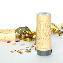 Gold Hearts Party Poppers x 5