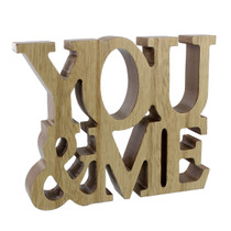 Lasting Memories' MDF Standing Plaque 'You And Me'