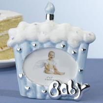 Cake Baby Frame 2x3 Blue