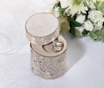 White Washed Pine Ring Holder