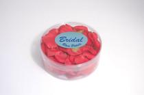 Satin Rose Petals Red