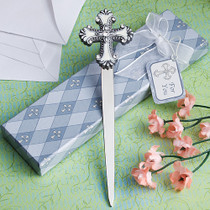 Cross Design Letter Favours