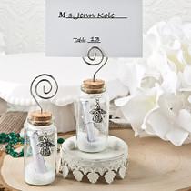 Guardian Angel Wishing Glass Jar With Photo Holder