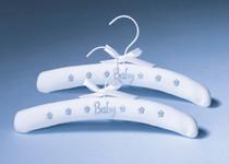 Set of 2 Baby Hangers Blue
