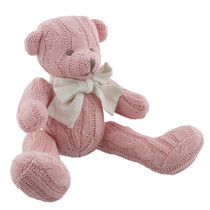 Petit Cheri Baby Collection Sitting Teddy Pink
