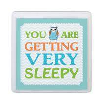Blue Owl Sleepy Nursery Sign