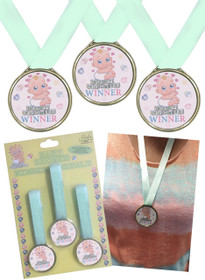 3 Baby Shower Winners Medal