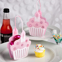 Pink Cupcake Treat Bags