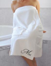 Mrs. Bath Wrap White
