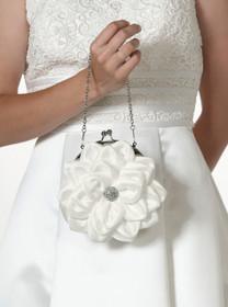 Flower Purse White