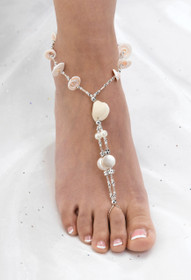 Set of 2 Shell Foot Jewellery
