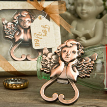 Heart Shaped Cherub Bottle Opener