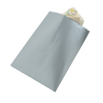 50 x Silver Cake Bags