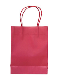 15 x Red Party Bags with handle