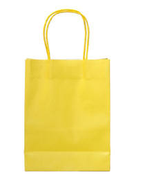 15 x Yellow Party Bags with handle