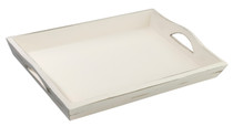 Antique White Tray Blank