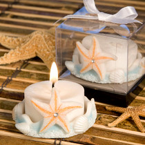 Starfish Design Favour Saver Candle Favours