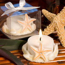 Starfish Design Favour Saver Candles
