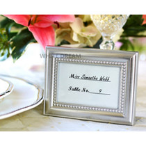 Silver Frame Place Card Holder & Photo Frame