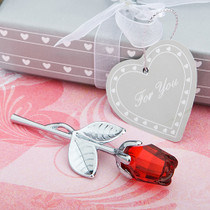 Choice Crystal Collection Red Rose Favours