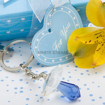 Choice Crystal Blue Pacifier Favours