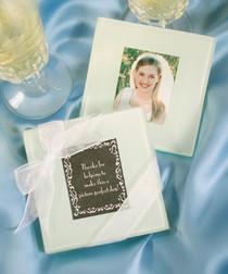Glass Photo Coasters