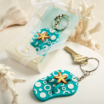 Fun And Funky Flip Flop Key chains
