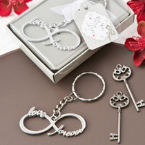 Infinity Design Silver Metal Key Chain From White Dream