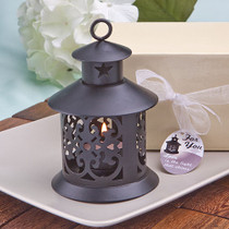 Fabulous Black Metal Lantern Favour