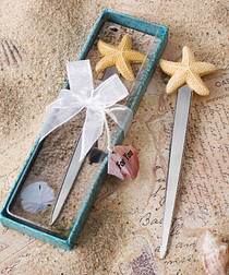 Starfish Design Letter Opener Favours