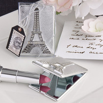 Paris Eiffel Tower Design Mirror Compacts