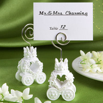 Royal Coach Design Place Card Holder Favours
