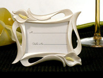Calla Lily Photo Place Card Frame