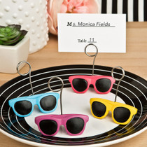 Sunglasses Design Place Card Or Photo Holders From White Dream