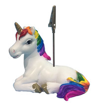 Rainbow Unicorn Placecard Holder