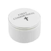 Juliana Ceramic Trinket Box - First Communion