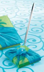 Blue Green Pen Set