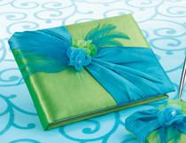 Blue Green Guest Book