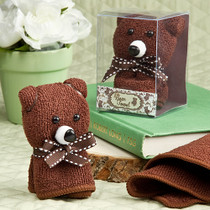 Adorable Bear Towel Favours