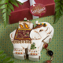 Elephant Design Curio Boxes
