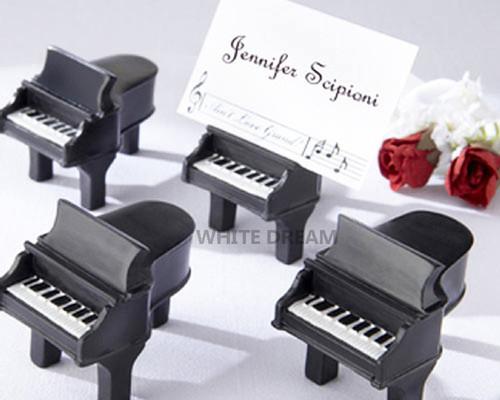 Grand Piano Place Card Holders with Place Cards