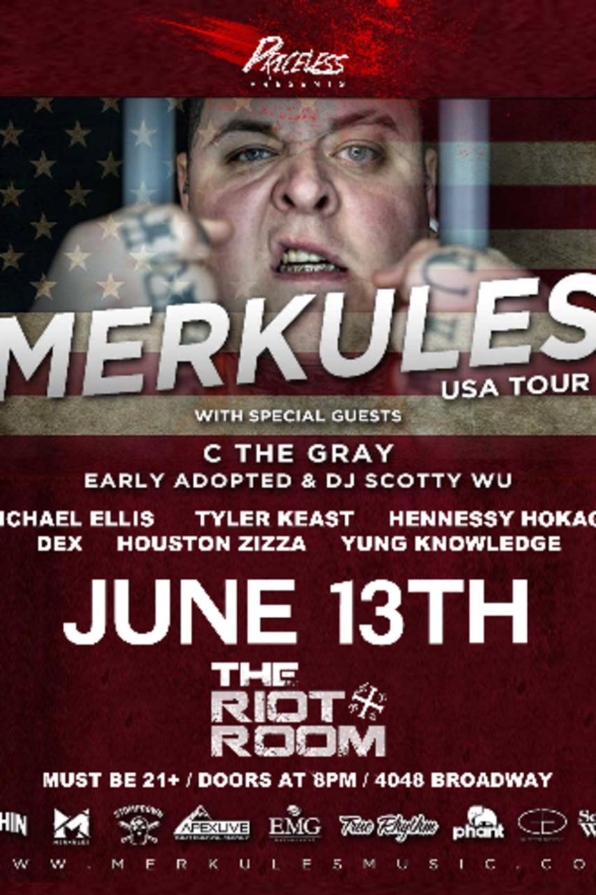 General Admission - Merkules @ Riot Room (Kansas City, MO) @ The ...