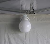 Gazebo & marquee globe lighting