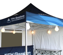 Gazebo and marquee Globe Lights