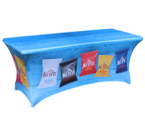 Stretch Printed tablecloth