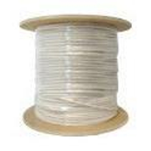RG59 Coaxial Cable CMP/Plenum 1000ft White Bulk Cable