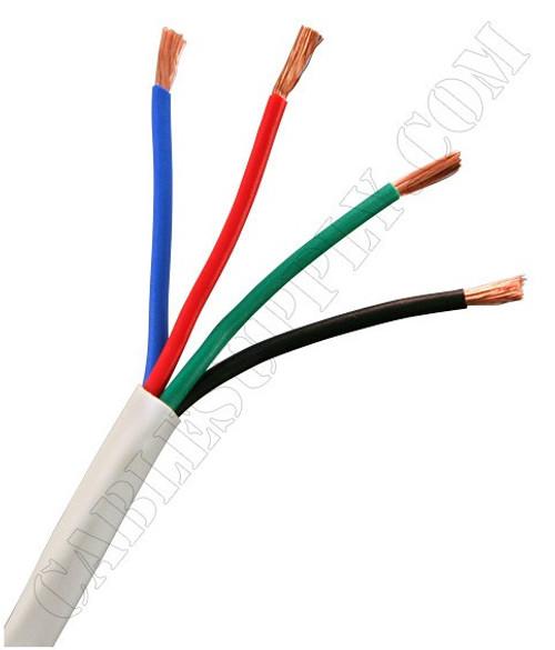 14 Gauge Speaker Cable 500 Foot White