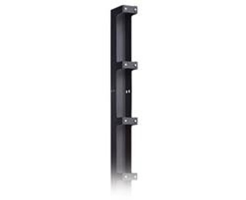 84in Single Sided Narrow Aluminum Vertical Cable Manager by Damac