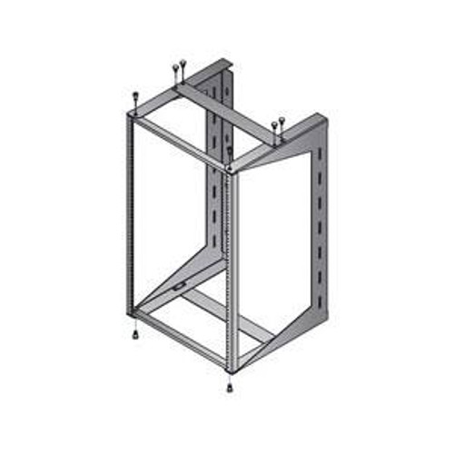 Panel Mount Swing Out Rack Wall Mountable 12U, 18U, or 24U by DAMAC