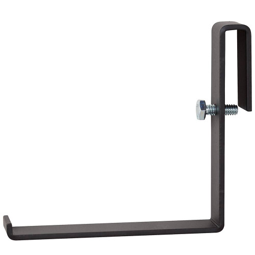 L Bracket for Ladder Rack Black by DAMAC